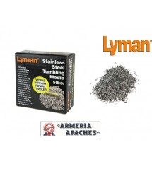 Lyman Stainless Steel Cleaning Media 5Lbs for Rotary thumbler