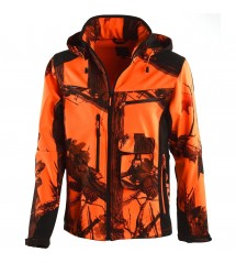 Univers Giacca in Softshell Blaze Orange Univers-tex 91055 51