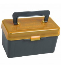 SmartReloader - SMALL Carry-On Ammo Box Can - 223 5.56 - w/ Foam Liner & Tray